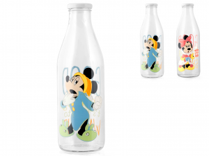 Bottiglia Latte Disn Mickey Riservizio Lt.1