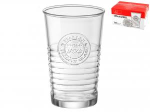 Confezione 6 Bicchieri In Vetro Officina1825