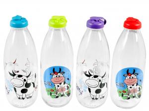 Bottiglia Latte Decoro Lt1      151906