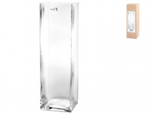 Vaso In Vetro Soffiato Cm 8x8x30h