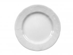 Piatto In Porcellana Salzburg Bianco Frutta21 *sk
