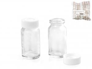 Bottiglia In Vetro Farmacia Con Tappo Ml10