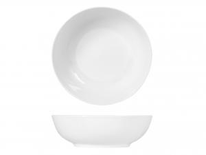 Insalatiera In Porcellana, ø 25 Cm, Bianco