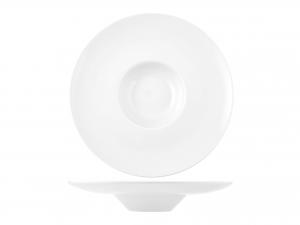 Piatto In Porcellana, ø 23 Cm, Bianco