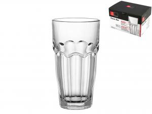 Confezione 6 Bicchieri In Vetro Rockbar Breakf 28,5