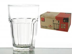 Confezione 6 Bicchieri In Vetro Rockbar Long Drink Cl37