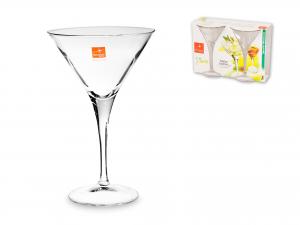 Confezione 2 Calici In Vetro Ypsilon Cocktail 24,5