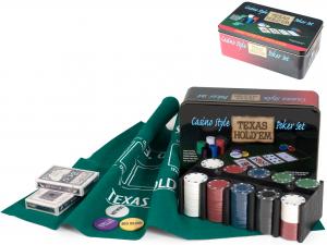 Confezione Latta Texas Hold'em