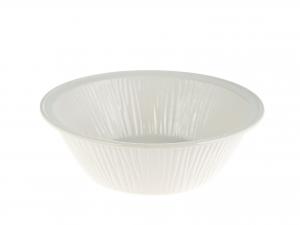 Coppa Ceramica Tondo Righe Cm25