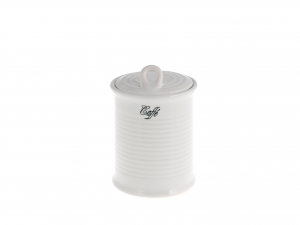 Barattolo Ceramica Righe Caffe' 30c