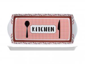 Vassoio Mlm Kitchen Red Cm38x16,5