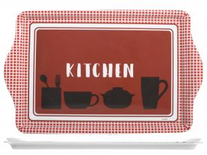 Vassoio Mlm Kitchen Red Cm46,5x29,5
