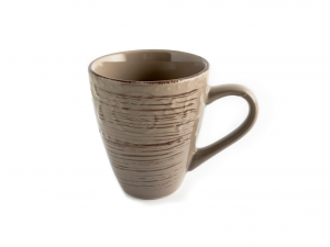 6 Mug In Stoneware Courtyard Marrone Cc400