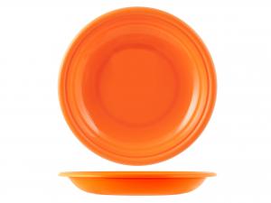 Piatto In Polipropilene Home Fondo Cm22 Arancio