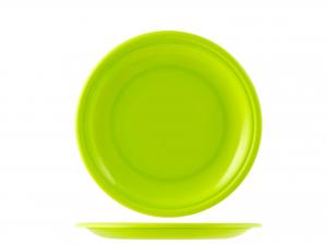 Piatto In Polipropilene Home Frutta Cm17 Verde M