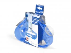 Mensola Ang Plt Con Ventosa Blu20x14 865