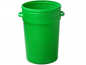 Bidone Echo  70lt S/cop Verde