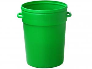 Bidone Echo 100lt S/cop Verde