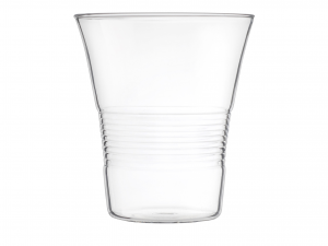 Set 4 Bicchieri In Borosilicato, 300 Ml, Trasparente