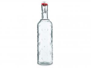 Bottiglia In Vetro Decoro Fior 1,1 Cb1619mh