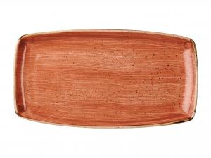Churchill Stonecast Piatto Rettangolare, Porcellana, Spice O