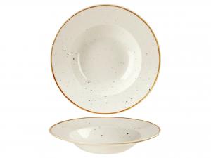 Churchill Stonecast Piatto Pasta, Porcellana, Barl White, Cm