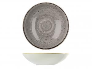 Piatto Stonecast Pepp Grey Fon 18,2