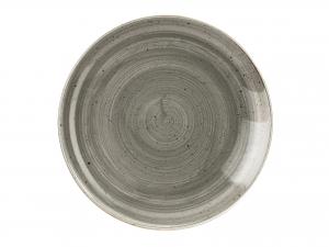 Churchill Stonecast Piatto Fondo, Porcellana, Pepper Grey, C