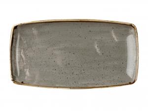 Churchill Stonecast Piatto Rettangolare, Porcellana, Pepper