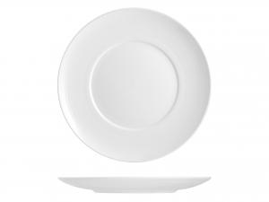 Piatto In Porcellana, ø 31,5 Cm, Bianco