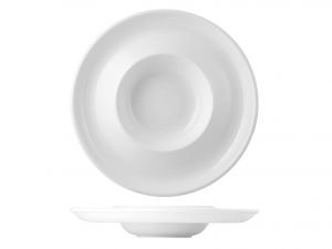 Piatto In Porcellana, ø 31 Cm, Bianco