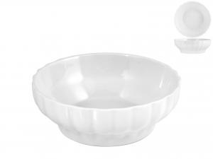 Insalatiera In Porcellana Bianco Coste Hotelware Cm20