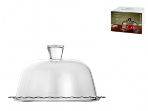 Pasabahce Petite Piatto Con Cupola Patisserie, 26cm