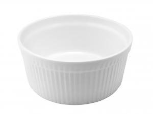Ramequin Porcellana Bianco Cm17x7,5      A0325