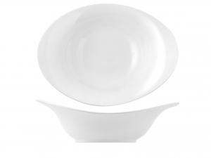 H&h Ciotola Porcellana Bianco Ovale Cm45 Ciotole Macedonia G