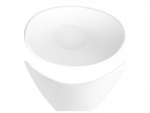 H&h Ciotola Porcellana Bianca Ovale 20cm - Ciotole E Insalat