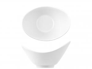 Ciotola Ovale In Porcellana, 15 Cm, Bianco