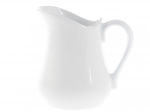 Lattiera In Porcellana Bianca Cc 1250