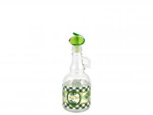 Oliera In Vetro Decoro Olive 0,5 Con Manico 151329
