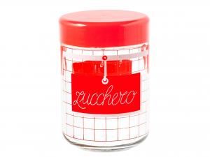 Barattolo 800cc Zucchero Cucina Rosso 4812