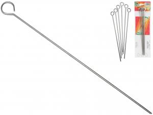 Confezione 6 Spiedini Inox Cm 35   S35/6