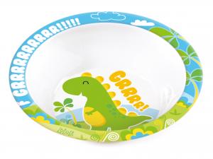 Piatto Fondo Dinosauro Lulabi