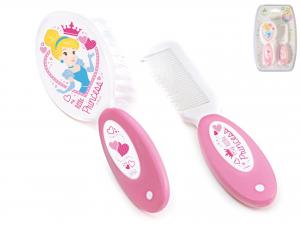 Set Spazzola E Pettine Little Princess Disney Baby
