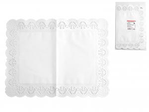 Confezione 6 Sottotorta Rettangolare 40x30 Bianco Blute