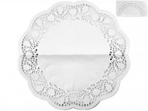 Confezione 6 Sottotorta Cm40 Bianco 4021 Rose
