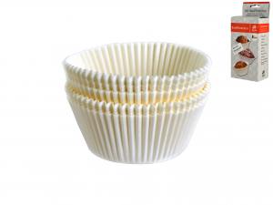 Confezione 100 Pirottini Cm 5 Bianco   5012