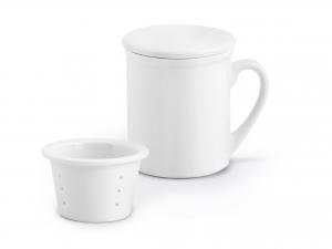 H&h Tisaniera Porcellana Bianco Cc280 Prima Colazione