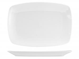 Piatto In Porcellana Bianco Rettangolare Cm30x20,5   3179