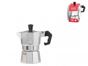 Caffettiera Expr In Alluminio Caldo Caffe' Tazze 1