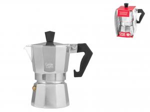 Caffettiera Expr In Alluminio Caldo Caffe' Tazze 2